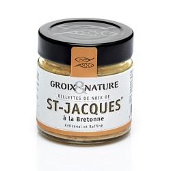 Scallop rillettes in Breton style