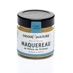 Mackerel rillettes with Sechuan pepper