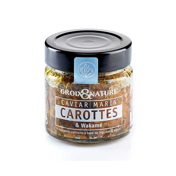 Caviar Marin Carottes & Wakamé