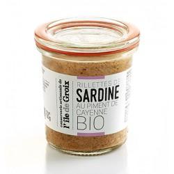 Rillettes de Sardine au Piment de Cayenne BIO
