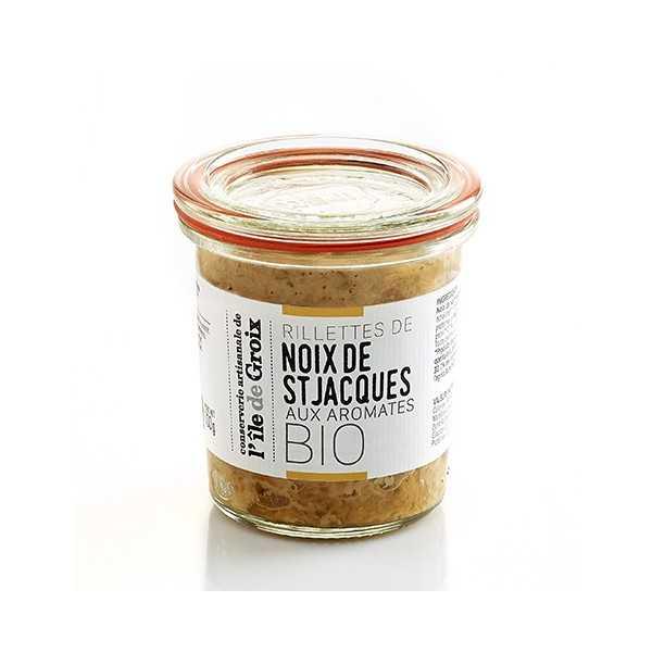 Rillettes de Noix de St Jacques Aux aromates BIO