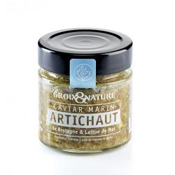 Caviar Marin Artichaut de Bretagne & Laitue de Mer