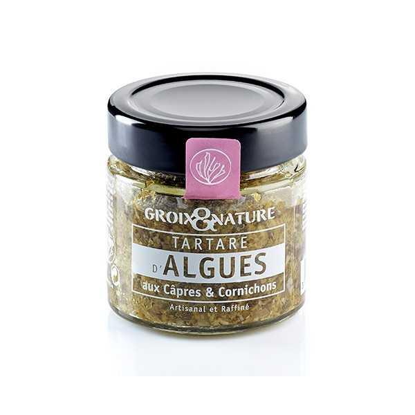 Tartare d'Algues aux Câpres & Cornichons