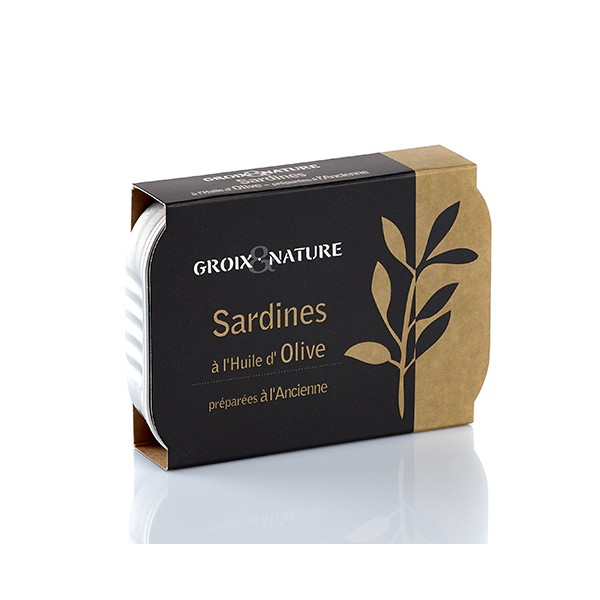 Sardines with olive oil