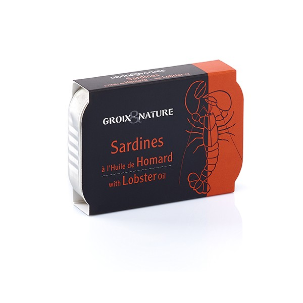 Sardines with Lobster Oil
