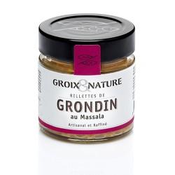 Gurnard rillettes with Massala spices