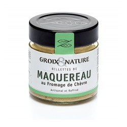 Mackerel rillettes with goat cheese