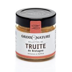 Trout rillettes in Breton style