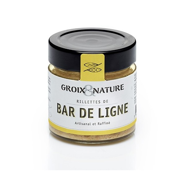 Line caught sea bass rillettes - Cuisiner le bar de ligne ...